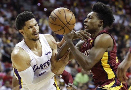 9ff3c6aac65 The Los Angeles Lakers and Portland Trail Blazers will meet in the NBA  Summer League championship for a second straight season. Last year Kyle  Kuzma ...