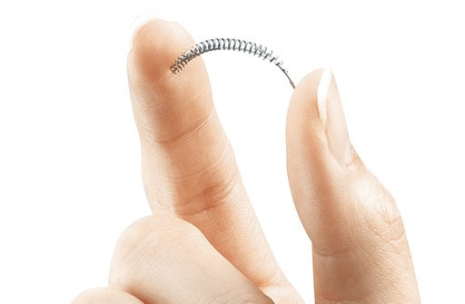 (Bayer Healthcare Pharmaceuticals via AP). FILE - This image provided by Bayer Healthcare Pharmaceuticals shows the birth control implant Essure. On Friday, July 20, 2018, the maker of the permanent contraceptive implant subject to thousands of injury ...