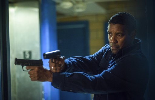 """(Glen Wilson/Sony, Columbia Pictures via AP). This image released by Columbia Pictures shows Denzel Washington in a scene from """"Equalizer 2."""""""