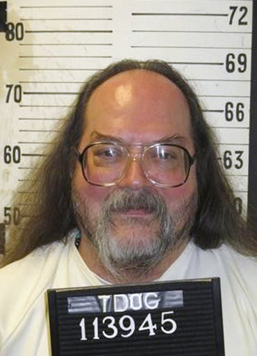 (Tennessee Department of Correction via AP). This undated photo provided by the Tennessee Department of Correction shows Billy Ray Irick, currently on death row at Riverbend Maximum Security Institution in Nashville, Tenn. Irick was convicted for rapin...