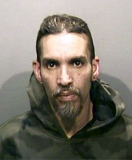 (Alameda County Sheriff's Office via AP, File). FILE - This Monday, June 5, 2017, file photo released by the Alameda County Sheriff's Office shows Derick Almena at Santa Rita Jail in Alameda County, Calif. Two men who pleaded no contest to 36 charges o...