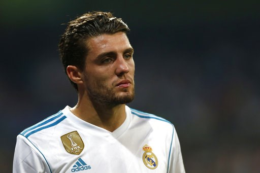 (AP Photo/Francisco Seco, File). FILE - In this Wednesday, Sept. 13, 2017 file photo Real Madrid's Mateo Kovacic leaves the pitch after being injured during a Champions League group H soccer match between Real Madrid and Apoel Nicosia at the Santiago B...