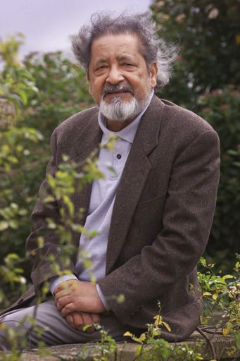 (Chris Ison/PA via AP). FILE - This 2001 file photo shows British author V.S. Naipaul in Salisbury, England. The Trinidad-born Nobel laureate whose celebrated writing and brittle, provocative personality drew admiration and revulsion in equal measures,...