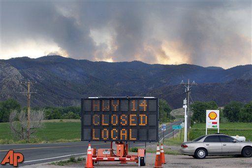 More homes evacuated in Colorado wildfire - CBS Atlanta 46
