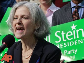 Stein, a Massachusetts doctor who ran against Mitt Romney for governor a decade ago is poised to challenge him again - this time for president as the Green Party's candidate. (AP Photo/Elise Amendola)