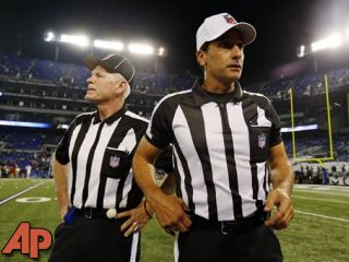 Cheers as NFL refs return: 'It's good to be back'