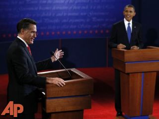 Romney barrels out of first debate on offense