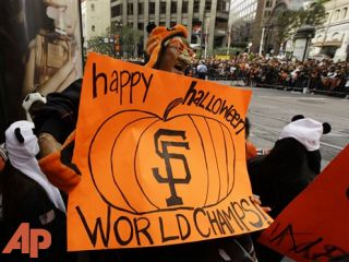 Champion SF Giants to be celebrated on Halloween
