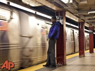 Storm-crippled NYC subway creaks back into service