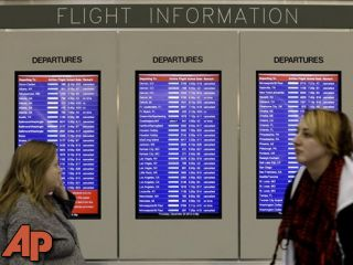 Travelers hope to be on their way after snowstorm