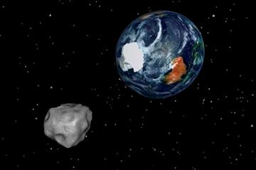 Asteroid buzzes, misses Earth _ unlike meteor