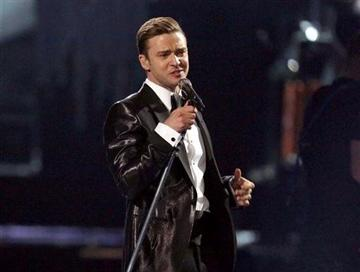 (Photo by Joel Ryan/Invision/AP, file). FILE - This Feb. 20, 2013 file photo shows Justin Timberlake during the BRIT Awards 2013 in London.