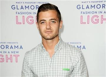 (Photo by Richard Shotwell/Invision/AP, File). FILE - This Sept. 12, 2013 file photo shows Robbie Rogers at the Macy's Passport's Glamorama at The Orpheum Theatre in Los Angeles.