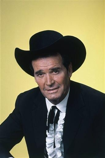 (AP Photo/NBC, File). FILE - Actor James Garner is shown in character in this April 7, 1982 file photo.