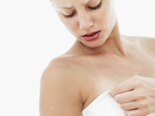 Labow said girls seeking breast-reduction surgery typically do so because they have experienced issues such as neck and shoulder pain. (©Stockbyte/Thinkstock)