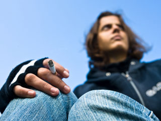 According to the American Lung Association, 68% of adult smokers started at age 18 or younger. (©iStockphoto.com/Patrick Laverdant)