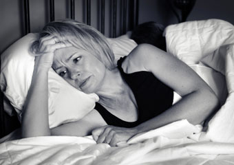 Chronic sleep disturbance could lead to increased risk for heart attack and high blood pressure. (©iStockphoto.com/Trista Weibell)
