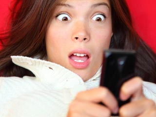 15% of students surveyed with cell phones acknowledged sexting. (©iStockphoto/Thinkstock)