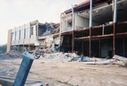 Broadwater Hotel in Biloxi, Mississippi following Hurricane Katrina