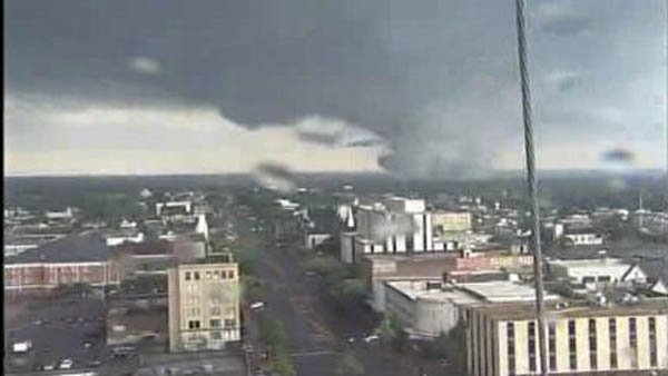Tornadoes tore through several Alabama cities on Wednesday, including Tuscaloosa, Birmingham and Cullman. (Source: WBRC)