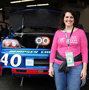 At the Rolex 24 at Daytona, January 30