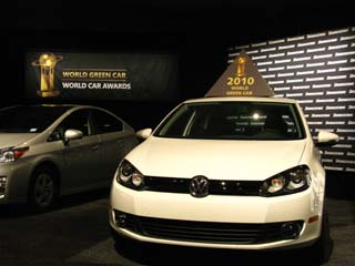 The Volkswagen BlueMotion Golf