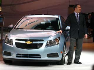 Chuck Russell discuses the Chevy Cruze Eco.