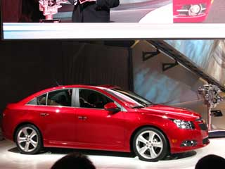 The 2011 Cruze RS will go on sale later this year. (photos &amp;copy;Dan Meade)