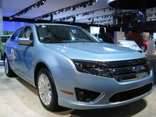 The Ford Fusion, Motor Trends' 2010 Car of the Year. (photos ©Dan Meade)