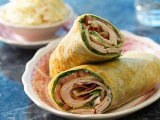 Leftover turkey is perfect for these spicy post-Thanksgiving wraps. (&amp;copy;iStockphoto.com/Paul Johnson)