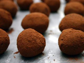 ... ones how much you care with homemade truffles. (©iStockphoto.com