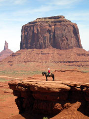 John Ford Point in Monument Valley, a Navajo Nation National Park. (&amp;copy;Barry Abisch/WorldNow)