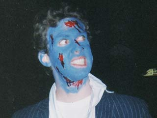 With the right makeup tips, you won't end up looking like this on Halloween. (&amp;copy;Krista Ryan)