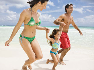 Vacations are rejuvenating. They also promote and strengthen family bonds. (©Jupiterimages/Brand X Pictures/Thinkstock)
