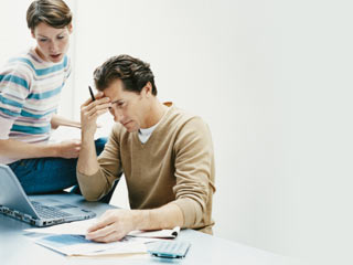Take a look at your last three months of bills to get an idea as to where your money is going. (&amp;copy;Digital Vision/Thinkstock)