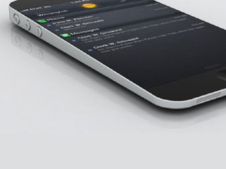Rumor has it the iPhone 5 will look something like this (Image courtesy of Digital Trends)