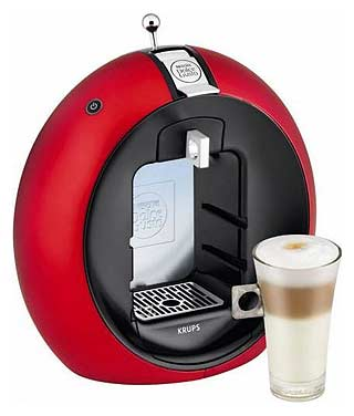 The Nescafe Dolce Gusto Circolo (images courtesy of Digital Trends)
