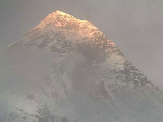 A view from the Everest webcam