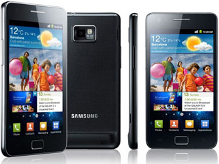 Samsung Galaxy II (© Image courtesy of Digital Trends)