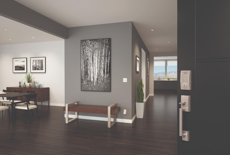 schlage locks and google home team up to make your smart. Black Bedroom Furniture Sets. Home Design Ideas