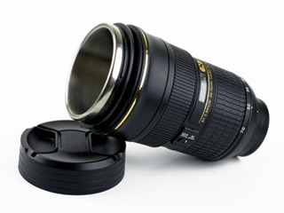 Camera Lens Mugs (© Image courtesy of Digital Trends)
