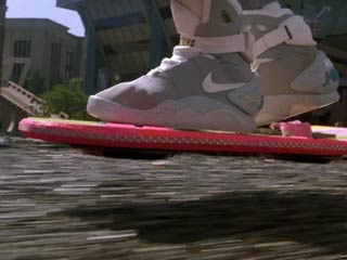Mattel has announced that the company will be creating a 1:1 replica of the hover board used by Michael J. Fox's character in Back to the Future II. (Courtesy of Digital Trends)