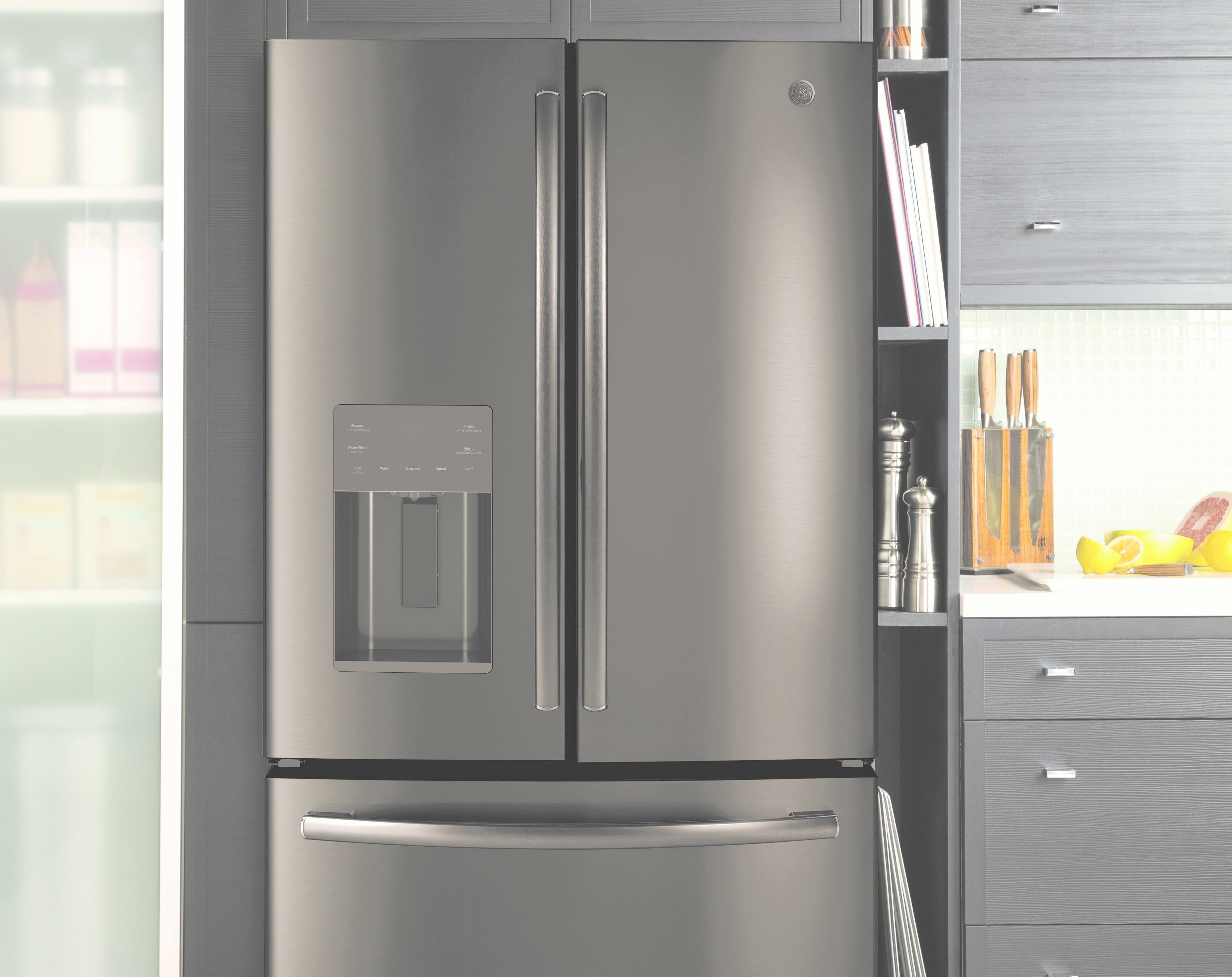 Ge Adds A Cubic Foot With High Capacity French Door Refrigerator