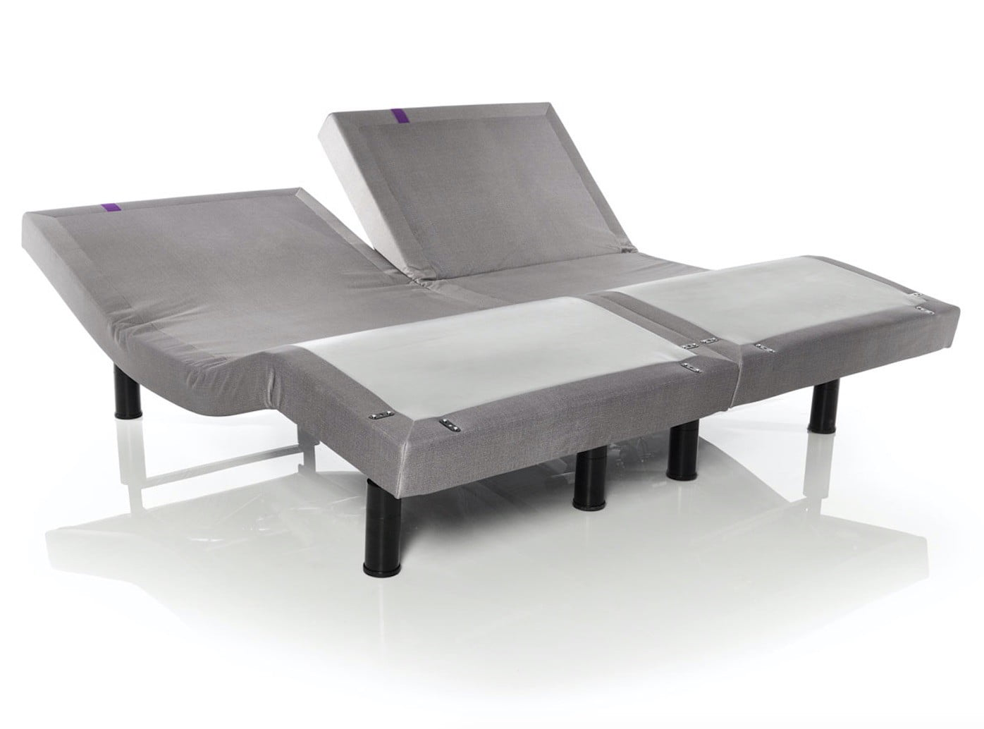The Purple PowerBase adjustable bed frame lets you rest and work ...