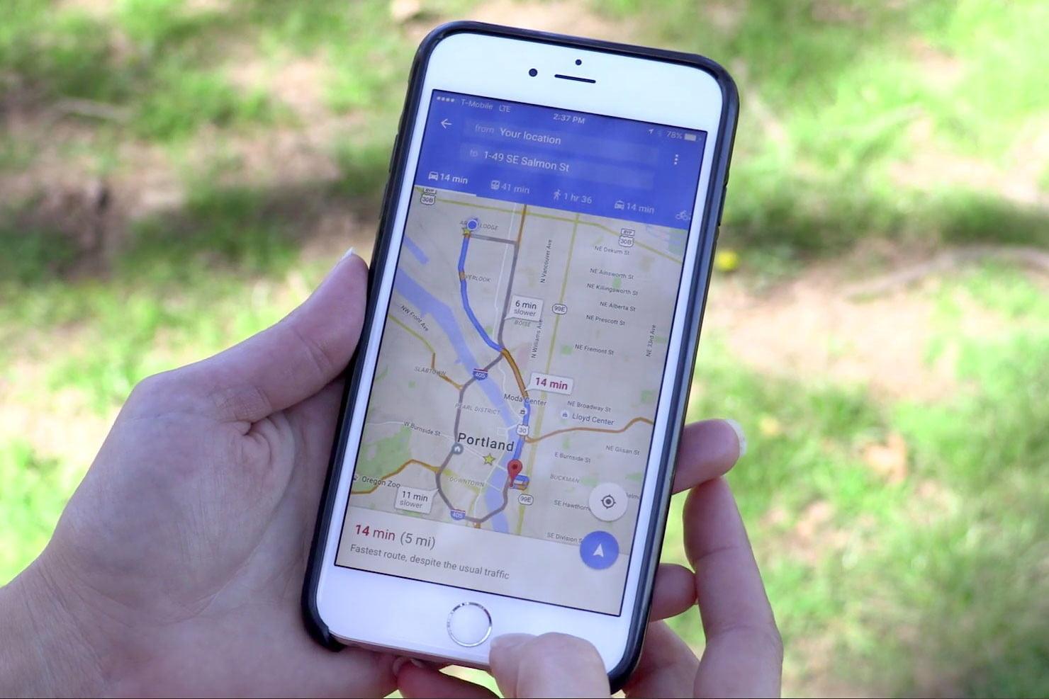 Apple Maps vs. Google Maps - Honolulu, Hawaii news, sports &amp ...