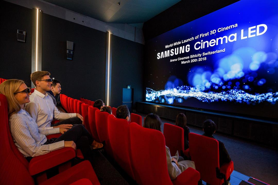 Samsung's 34-foot LED TV looks to change movie theaters