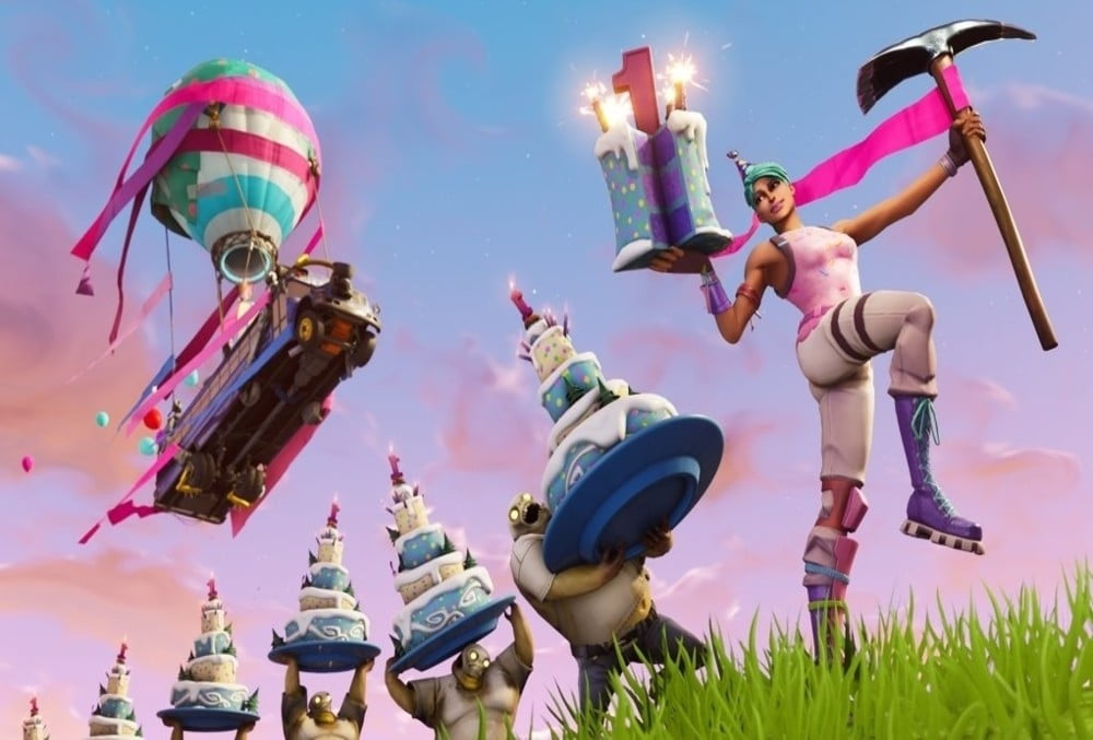 Where To Find All Fortnite Birthday Cake Locations Wandtv