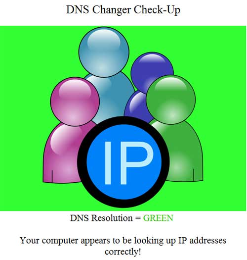 The green DNS Charger Check-Up graphic. (Images courtesy of Digital Trends)