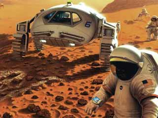 Mars One wants to have 20 astronauts living on mars by 2033. (Image courtesy of Digital Trends)