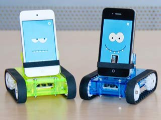 Romo gives your iPhone a body of its own and transforms it into a kind of robot. (Images courtesy of Digital Trends)